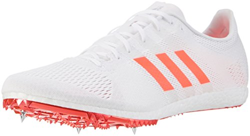 Adidas Adizero Avanti, Zapatillas de Running Unisex Adulto Blanco (Ftwbla / Rojsol / Plamet)