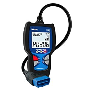 Innova 3020d Check Engine Code Reader w/ABS (Brakes), DTC Severity, Emissions Diagnostics, and Easy to Use HotKeys for OBD2 (OBD II) Vehicles