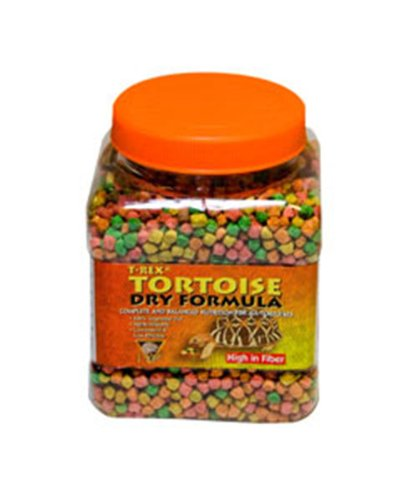T-Rex Tortoise Dry Formula 6oz (Pelleted Food)