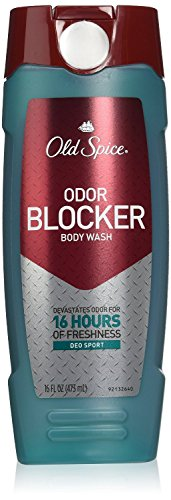 Old Spice Body Wash Odor Blocker Deo Sport Scent, 16-Ounce (Pack of 2)
