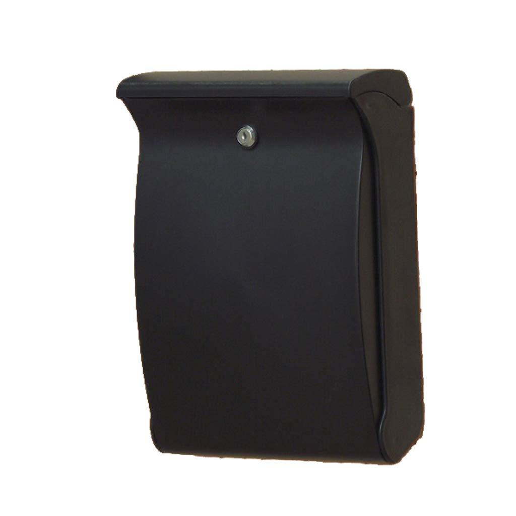 RMJAI 2つのキーの屋外の反紫外線ABSプラスチック郵便箱の壁に取り付けられた郵便箱の耐水性のレターボックス   B07R7JRN1X
