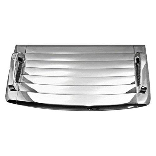 (BLACK HORSE HU-H3-HVD Fits Hummer H3 Hood Deck Vent Panel Handle Covers Trim Moulding ABS Chrome 3Pcs ...)