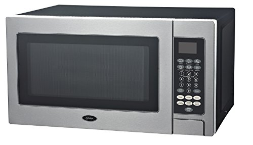 Oster OGZD0701 Microwave Oven, 0.7 cu ft, Stainless Steel