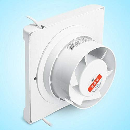 QUAKOI 6 Inch 220V 60W Extractor Fan Silent Ventilation Wall Mounted Fan Windows