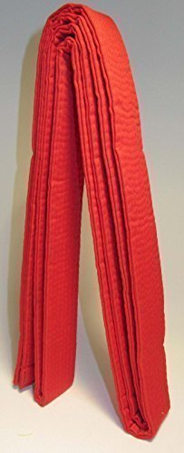 Kickboxing Karate Judo Belt (RED) Extra Small Kids, Junior Special Kids size Easy Tie (160cm) Length For CHILDREN
