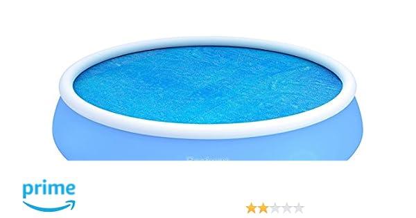 Bestway 58066 - Cobertor solar para piscinas Fast Set, tamaño 18/5.49m: Amazon.es: Jardín