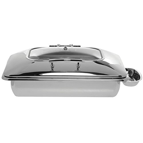 HUBERT Induction Chafer Full Size 9 1/2 Quart Stainless Steel Contemporary - 23