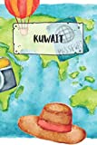 Kuwait: Ruled Travel Diary Notebook or Journey  Journal - Lined Trip Pocketbook for Men and Women with Lines