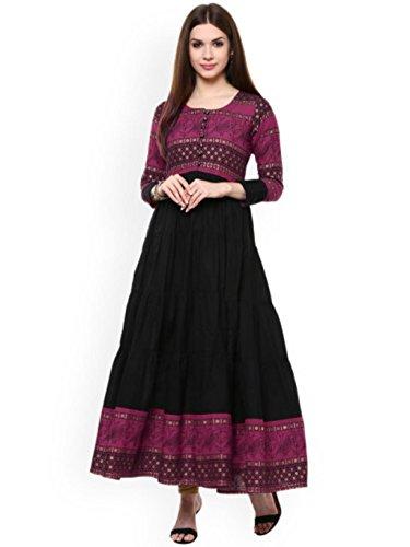 Dream Angel Fashion Women Dress Kurti Bollywood Designer Printed Anarkali Suit Kurta Ready to Wear (Extra Large, - For Salwar Women Party Suits Wear