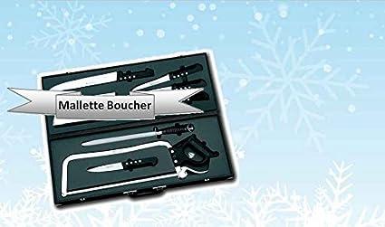 Compra Fischer Bargoin - Maletín de 8 cuchillos ...