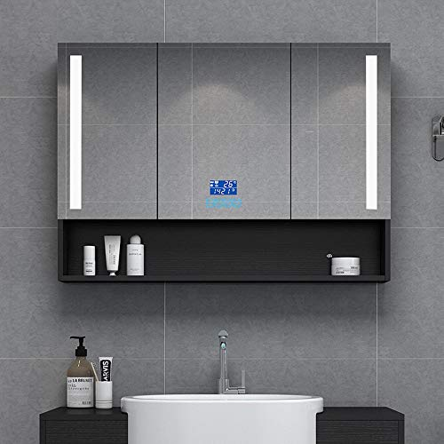 Bathroom vanity cabinet Sink Storage Cabinet Mirrored Cabinet Wall/Mirror Cabinet Wall Mounted - Illuminated Shaver Socket Cabinet Bathroom Mirrors