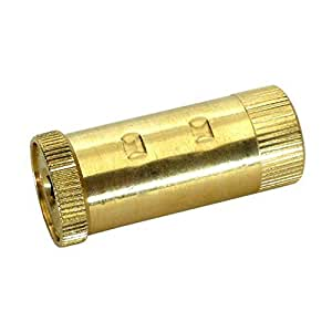 Meyco POPUP Brass Popup Anchor, Spring Loaded for Pool Safety Covers