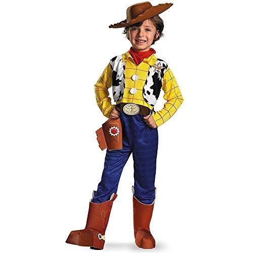 Woody Deluxe Costume - (Deluxe Woody Cowboy Costumes)
