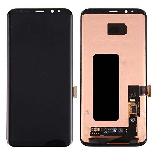 Practical Cell Phone Parts LCD Screen + Touch Screen Digitizer Compatible With Samsung Galaxy S8+ Premium Durable Mobile…