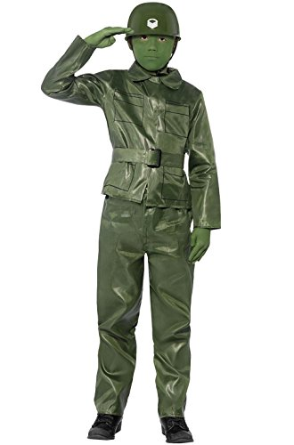 [Mememall Fashion Little Green Toy Soldier Child Costume] (Legend Of Sleepy Hollow Costumes)