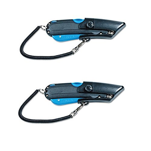 Garvey 091524 Safety Cutter with Holster, Black/Blue, 2 Packs by GARVEY