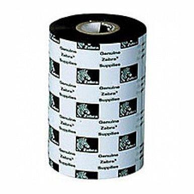 ZEBRA 02000BK17445 B 1810 ZEBRA, CONSUMABLES, 2000 WAX RIBBON, 6.85 X 1476', 1 CORE Zebra 2000 Wax 02000BK17445-R Standard Wax Thermal Transfer Ribbon - 6