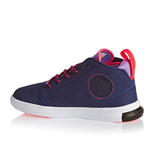 Converse Trainers - Converse Girls All Star Easy Ride Shoes - Japanese Eggplant/Frozen Lilac