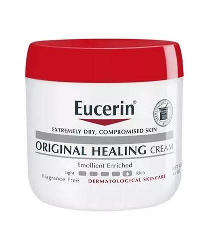 Eucerin Original Healing Rich Creme, 16 Ounce (Pack of 2) by Eucerin