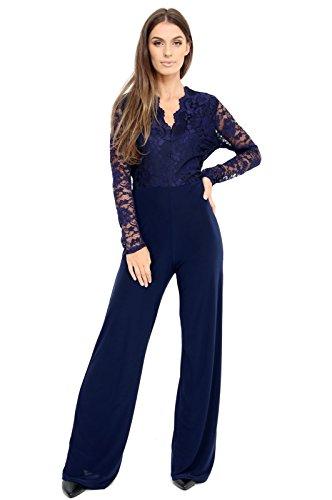 Azul Momo Mono Fashions Marino amp;ayat Mujer Para 1nZx4PRnH