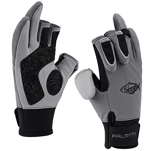 Palmyth Flexible Fishing Gloves Warm for Men and Women Cold...