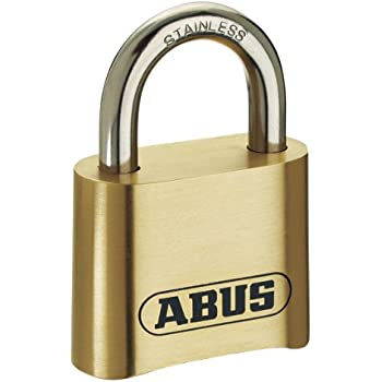 b5703ca913a0 ABUS 190CS/60 High Security Solid Steel Combination Padlock - Closed ...