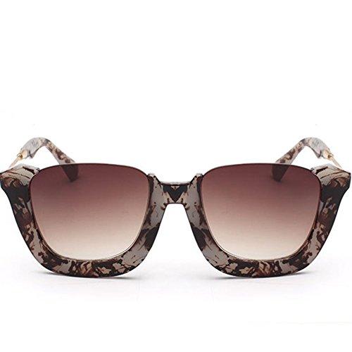 GUGGE Womens Half Frame Fashion Sunglasses Driving - Terminator Gargoyle Sunglasses