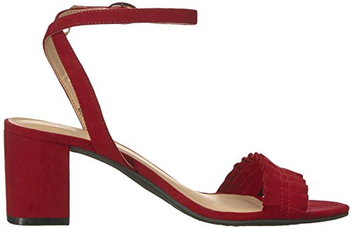 CL by Chinese Laundry Women's Jamz Dress Sandal Cherry Red Suede xZAvn6PD