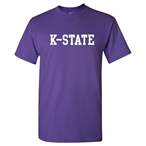 AS01 - Kansas State Wildcats Basic Block T Shirt - Small - ()