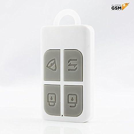 Kit alarma con sensores antimascotas inalámbrica GSM y PSTN para hogar, casa, negocio o tienda App IOS Android gratuita / Sin cuotas mensuales / Pilas ...