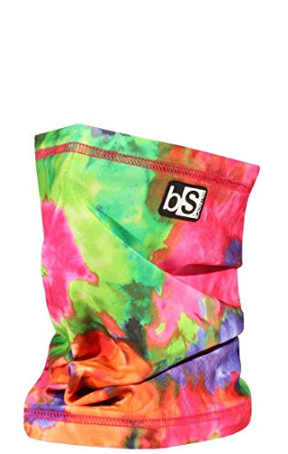 BLACKSTRAP Tube Facemask Tie Dye Neon Mens One Size