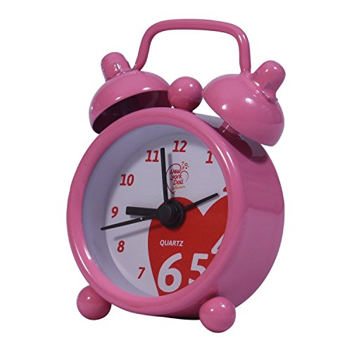 Doll Alarm Clock - Dollhouse Accessories - Fits 18 Inch Dolls (Pink) ()