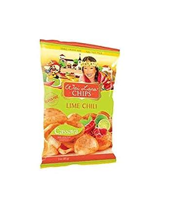 Wai Lana Lime Chili Cassava Chips (14) 3 oz bolsas – COS ...