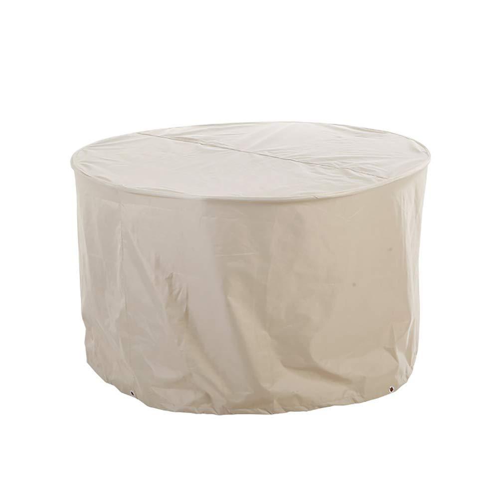 NEVY ガーデン家具カバー 円形 ガーデンテーブルカバー 防水 ヘビーデューティ オックスフォード パティオ 円形 テーブルセットカバー (Size : 125x75cm) B07TDFCYL4  125x75cm