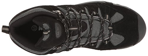 Adtec Mens 9651c Waterproof Composite Toe Hiker Black Work Boot Black 1AocRN