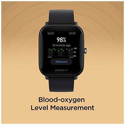 AmazfitBipblood-oxygen measurement