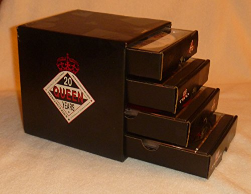 - QUEEN ROCKS Twenty 20 Year Reign 1991 PROMO 4 CD BOXSET Cube Drawers Box Set