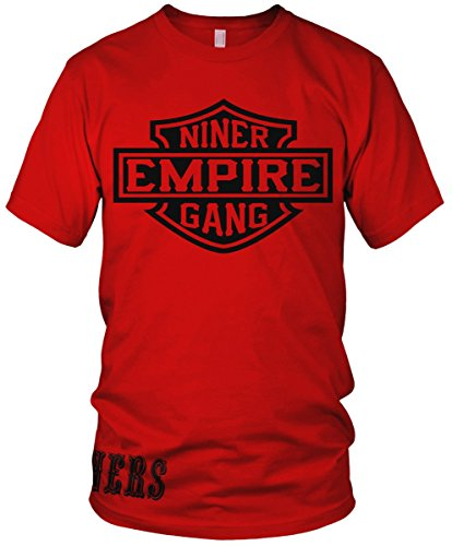 Niner Empire Gang Red T-Shirt (5X-Large)