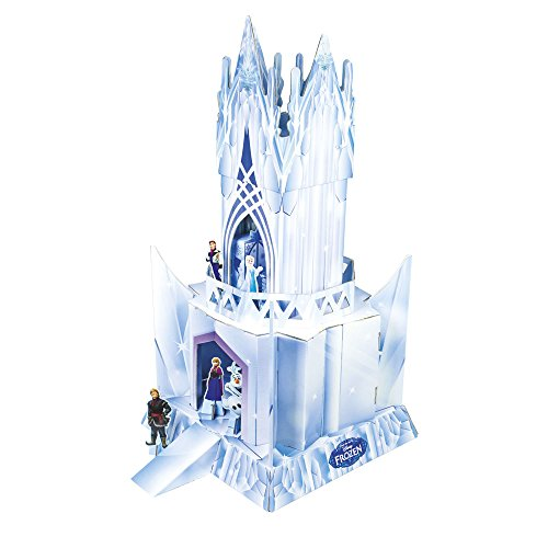 Elsa's Ice Castle Doll House ~ Official Frozen Merchandise ~ Cardboard Castle & Character Cut Outs