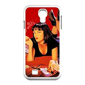 Pulp Fiction Samsung Galaxy s4 9500 White Cell Phone Case TAL857556 Cell Phone Case For Girls