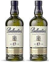 Ballantines 17 años Blended Scotch - Juego de 2 Whisky