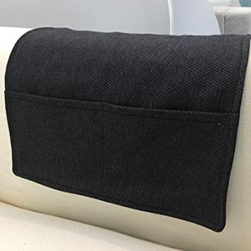Lecent@ Armchair Tray Sofa Handrail Couch Armrest Organizer Remote Control  Holder Bag On TV Sofa