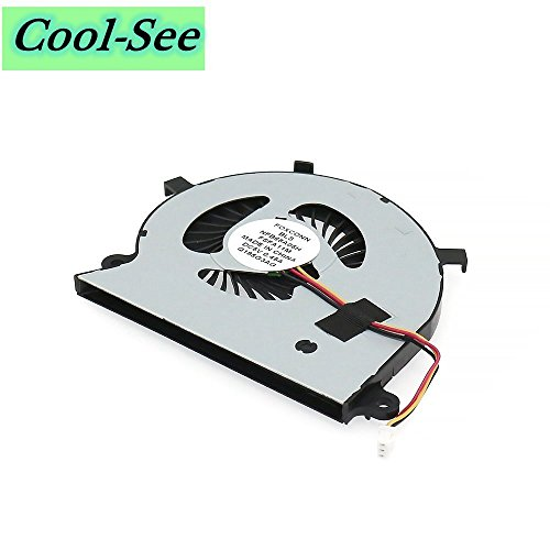 Cool-See Replacement CPU Cooling Fan For Toshiba Satellite Radius P55W-B P55W-B5112 P55W-B5162SM P55W-B5181SM P55W-B5201SL P55W-B5220 P55W-B5224 P55W-B5260SM P55W-B5318 P55W-B5380SM Series