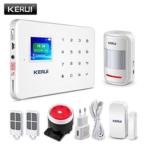 Wireless Home GSM Security Alarm System App Control & Motion Detector (DIY KIT 1)