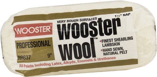 wooster-brush-rr637-9-wooster-wool-roller-cover-1-1-2-inch-nap-9-inch