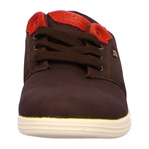 British Knights Hombres Zapatillas de deporte Copal PU Marrón - marrón