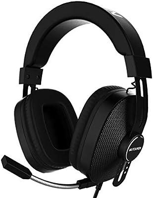 MUTOUREN Auriculares Gaming PS4 Juego Headset Headphone con ...