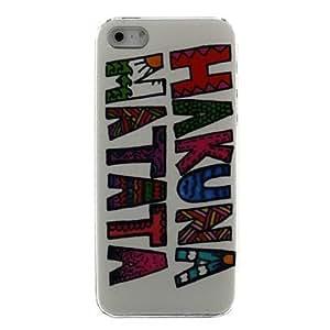 Caso Hakuna Matata de silicona para el iPhone 5/5S