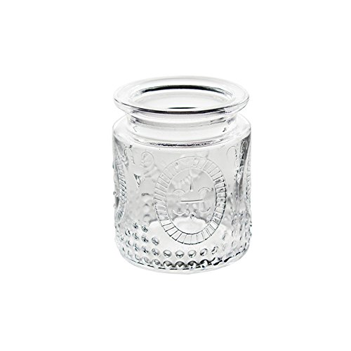 Clear Glass Vintage Inspired Hobnail Votive or Tea Light Candle Holder in a Set of 12 for Tabletop Décor and Home Accents