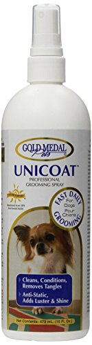 Gold Medal Pets Unicoat Spray Standard Formulation for Dogs, 16 oz. by Gold Medal Pets